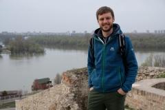 Und das obligatorische Foto mit der Donau