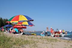 ...doch der Strand genau vor der Haustüre - das hat auch etwas! :-)