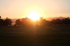...bevor die Sonne bald verschwunden ist.