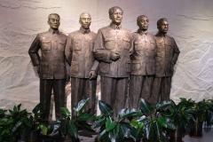 Am Ende des Museums erwarten uns noch diese Herren. In diesem Bereich sind die Info-Tafeln allerdings nur auf Chinesisch.