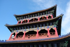Doch auch in Urumqi ist es möglich, dem Trubel und Verkehrslärm für eine gewisse Zeit zu entrinnen. Die Pagode im Red Hill Park ist zum Beispiel ein solcher Ort.