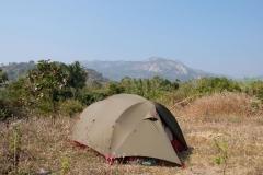 Wozu auch, wenn wir auch an diesem Ort unser Zelt aufschlagen können
