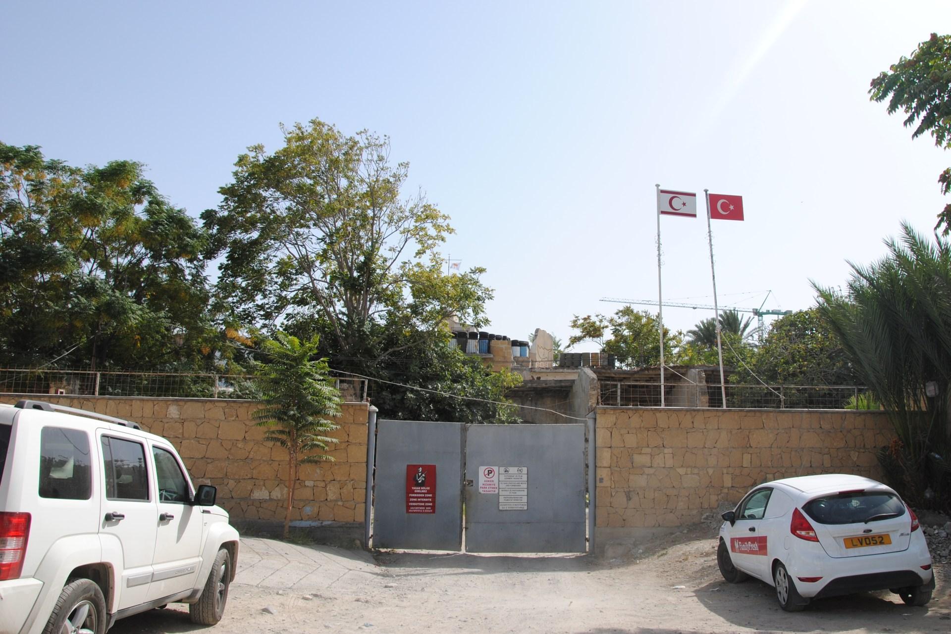 Grenzmauer in Nikosia