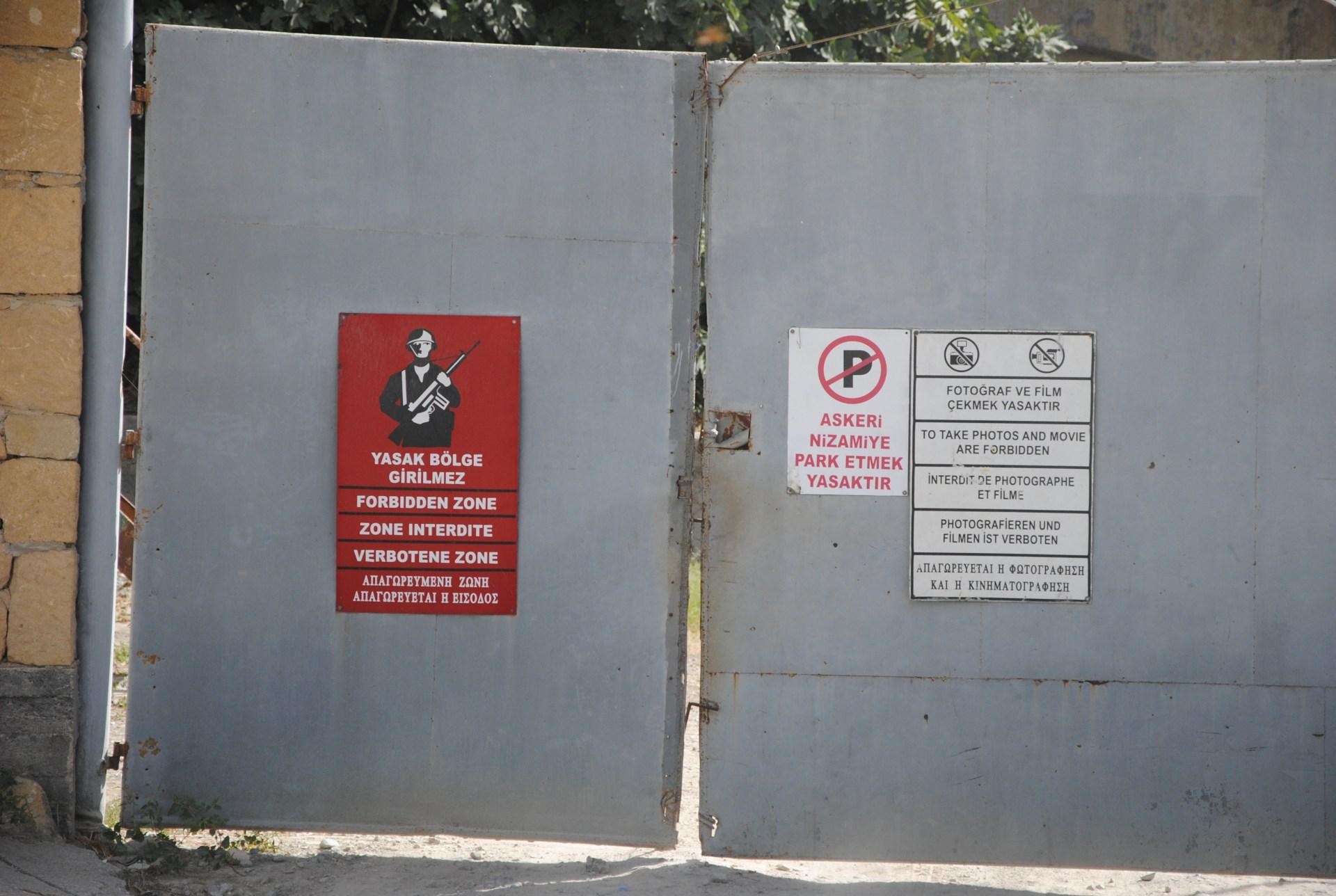 Grenztor in Nikosia