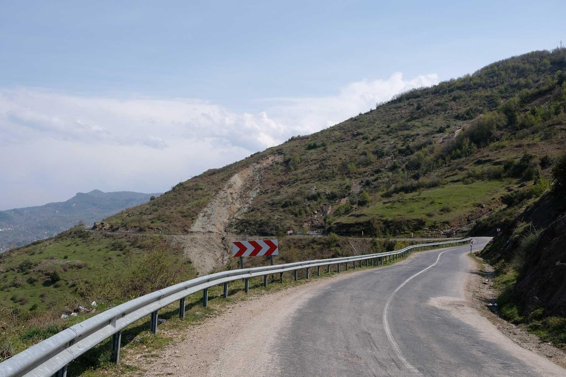 Kurvige Straße