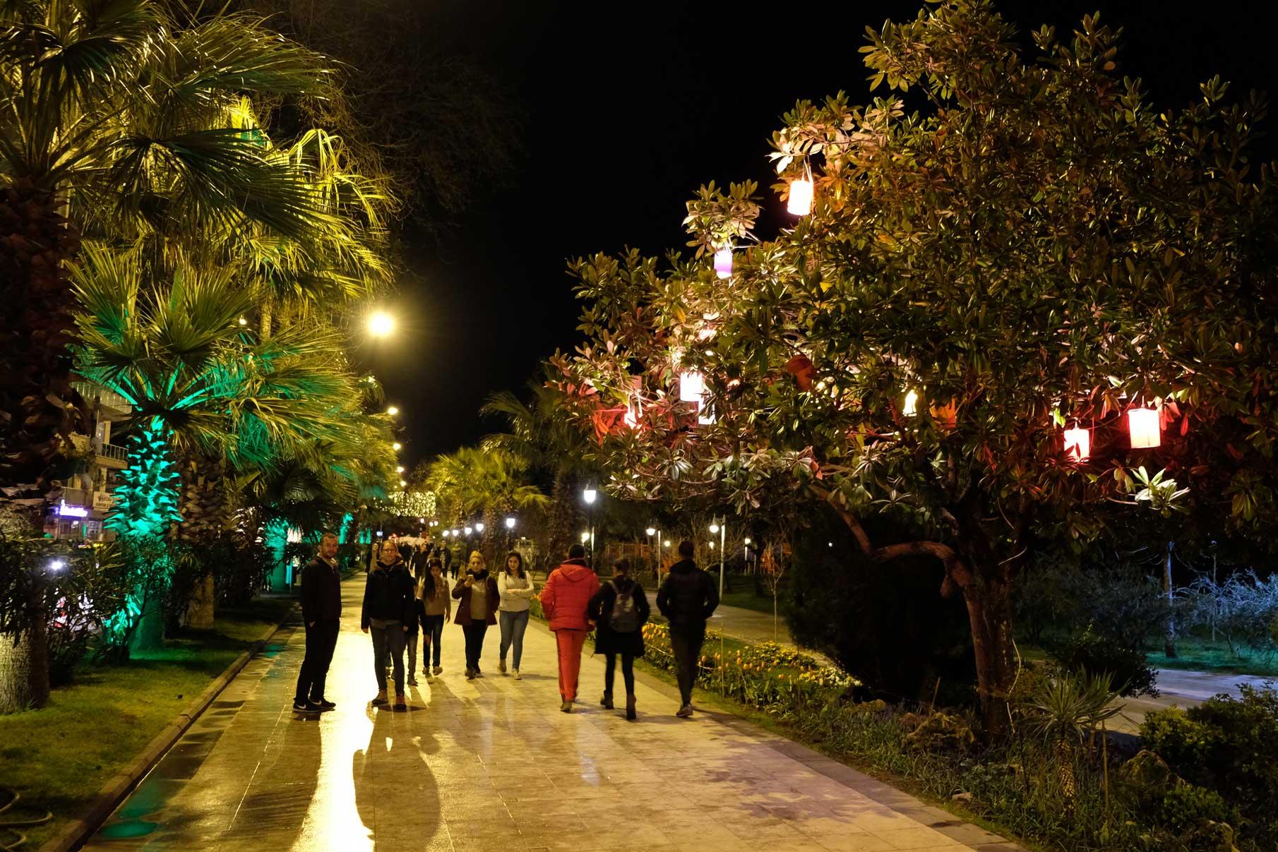 Fußgängerzone in Sinop