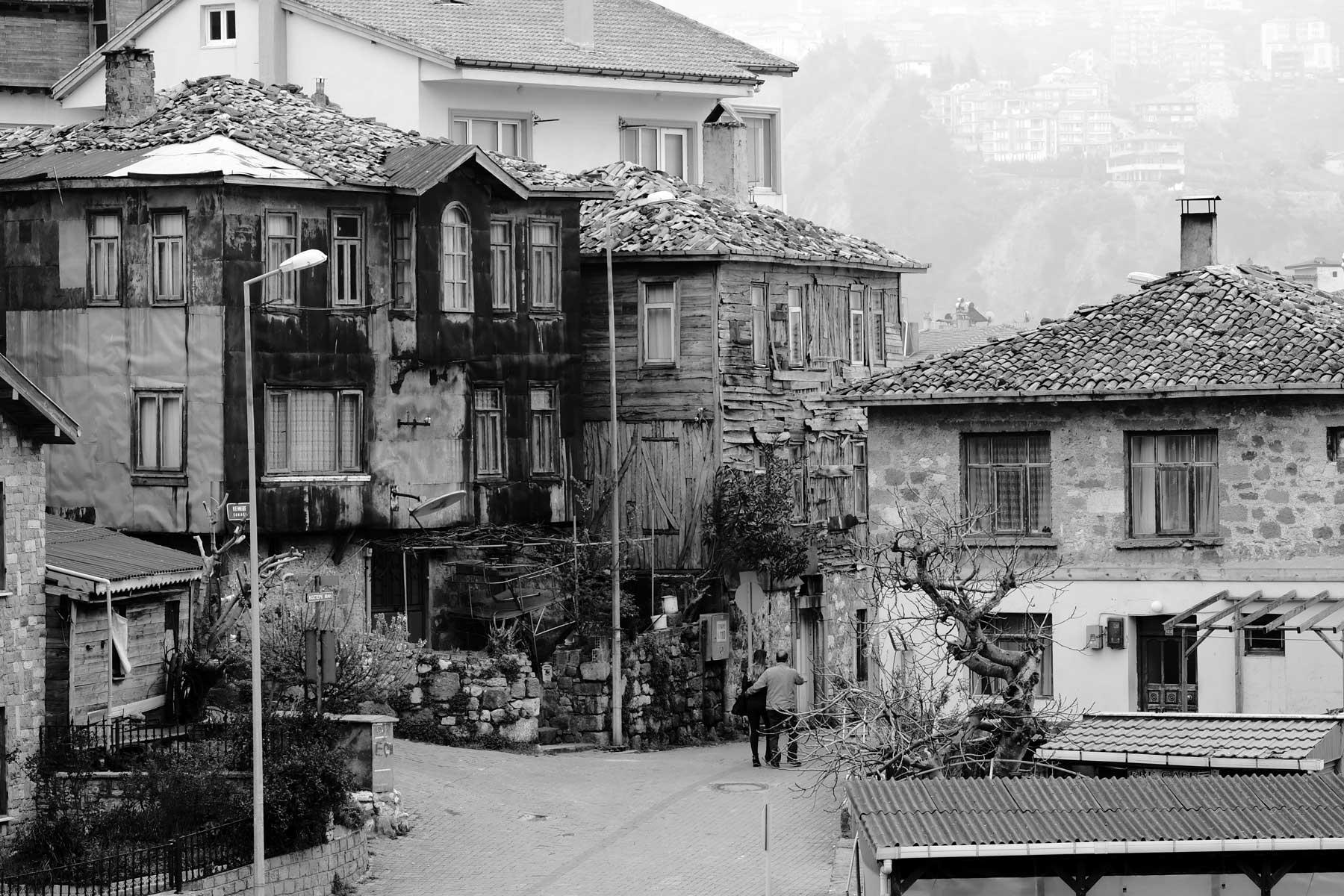 Alte Häuser in Amasra