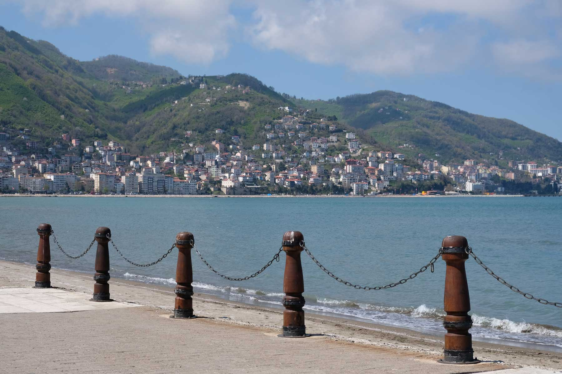 Uferpromenade in Ordu