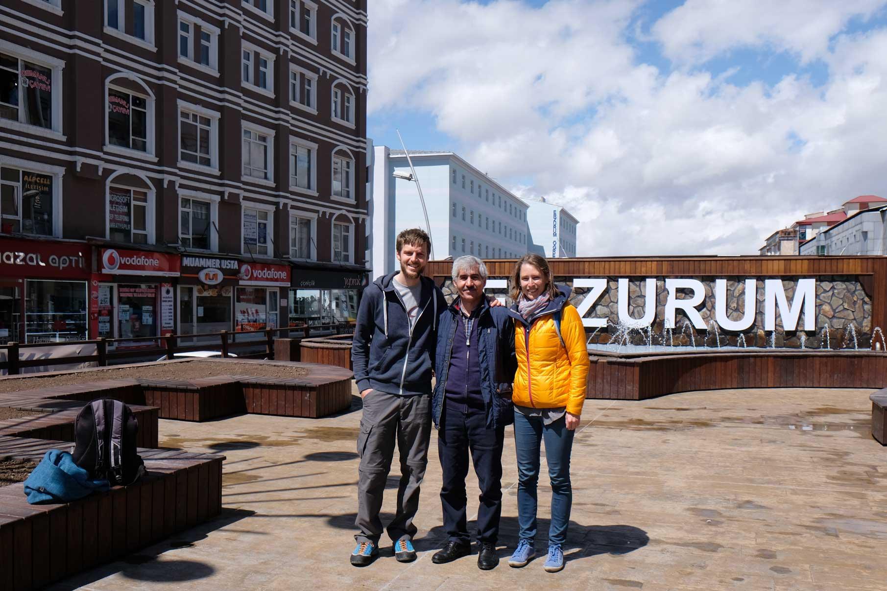 Sebastian, Fesih und Leo in Erzurum