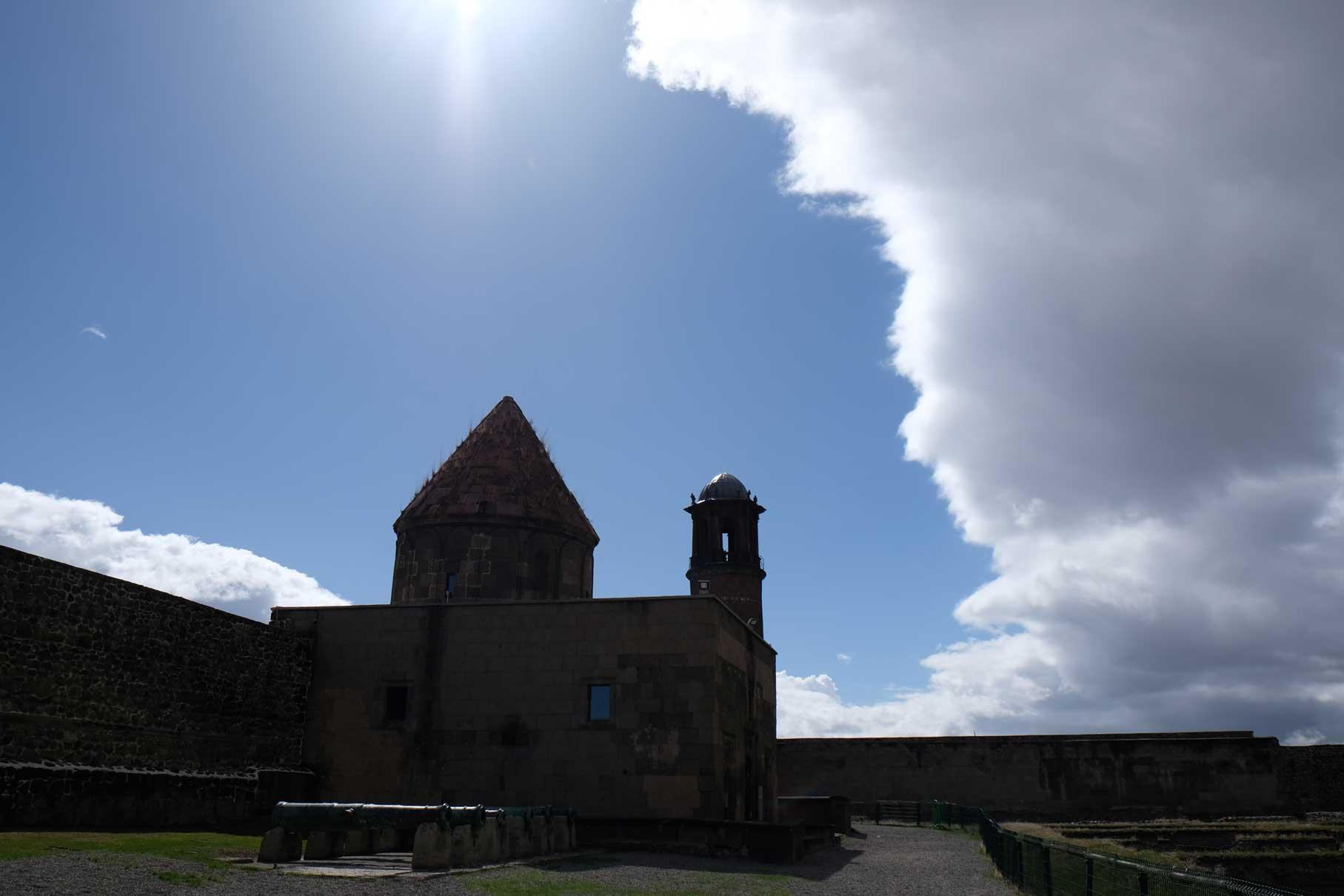 Silhouette einer Zitadelle
