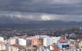 Regenwolken über Erzurum