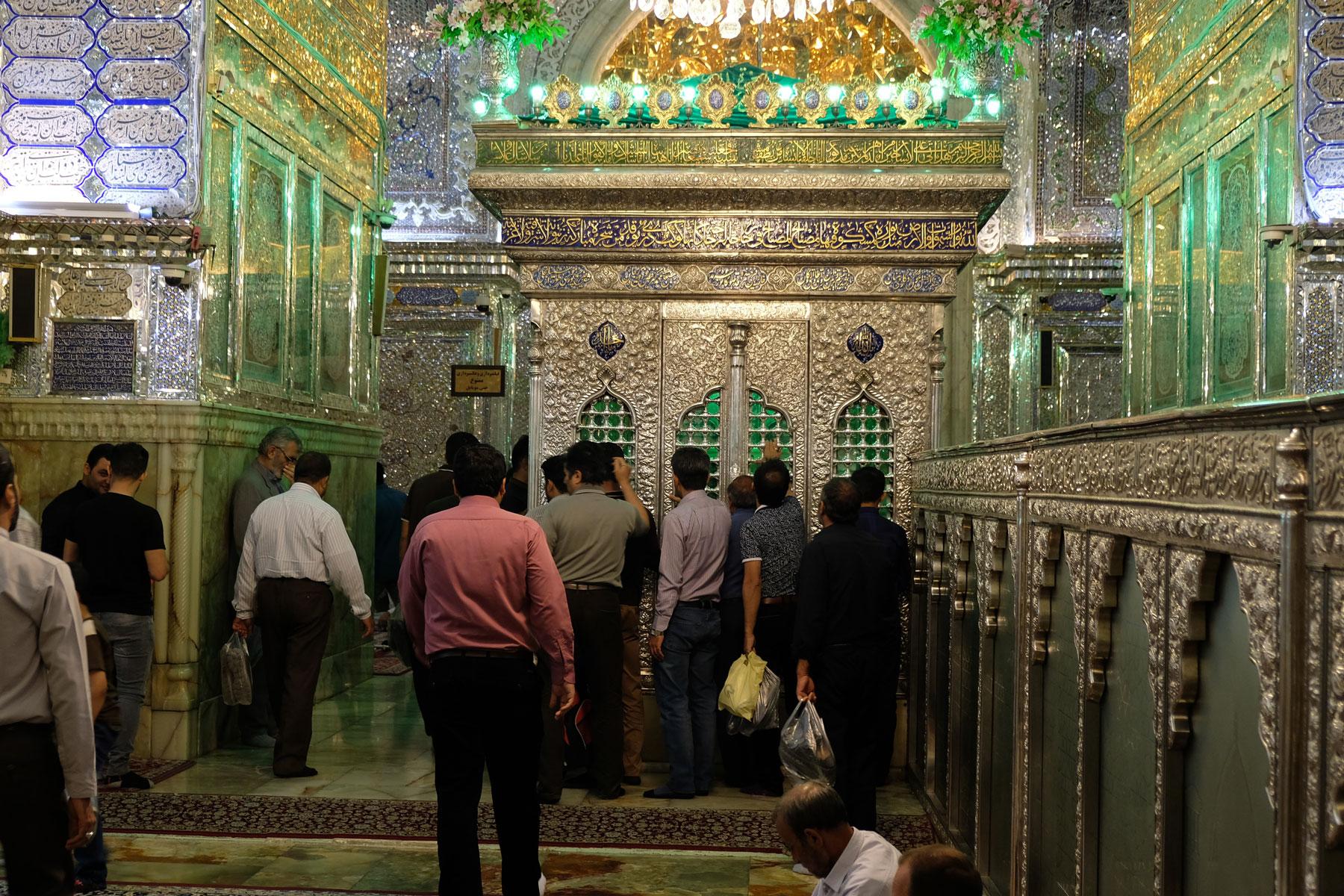 Der heilige Schrein im Schāh-e Tscherāgh