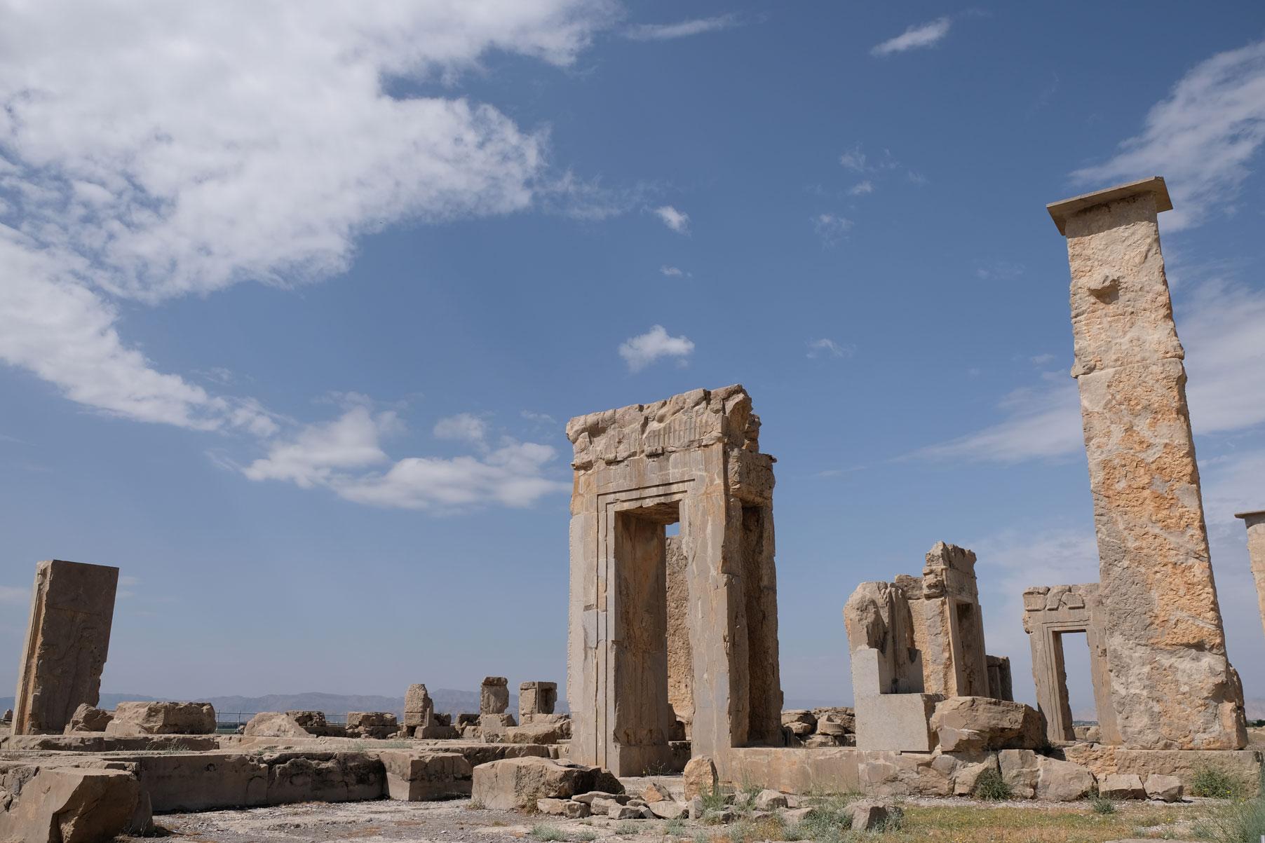 Die Ruinen von Persepolis