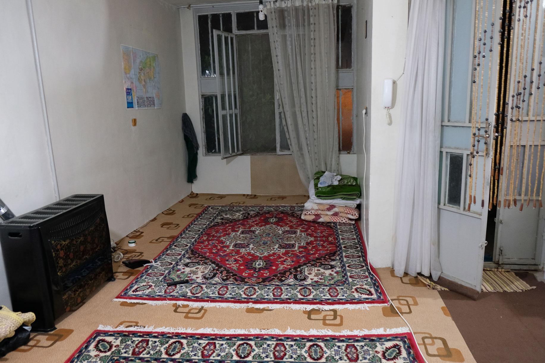 Teppiche auf dem Boden