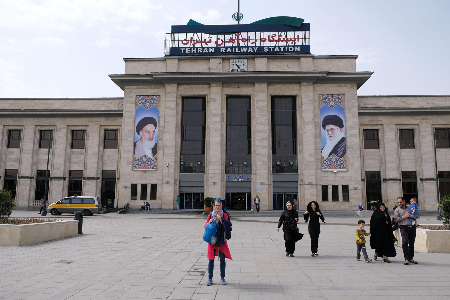 Der Teheraner Hauptbahnhof