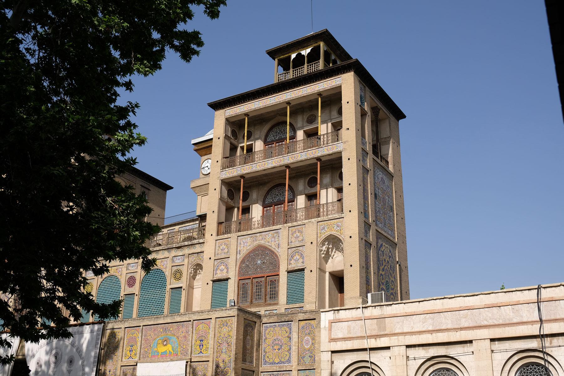 Sonennhaus im Golestan Garden Palace