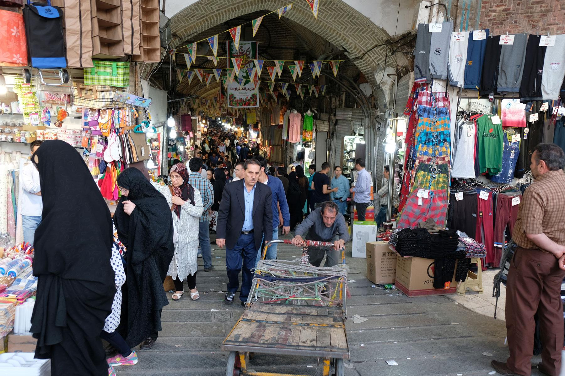 Haupteingang zum Teheraner Basar