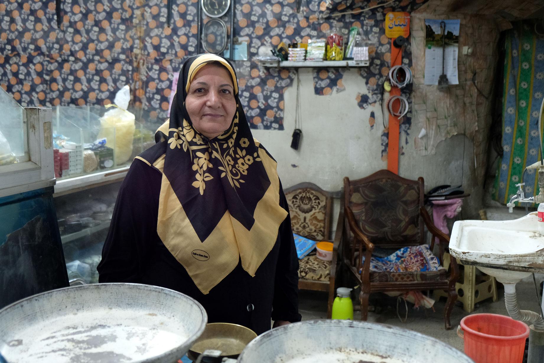 Eine iranische Frau