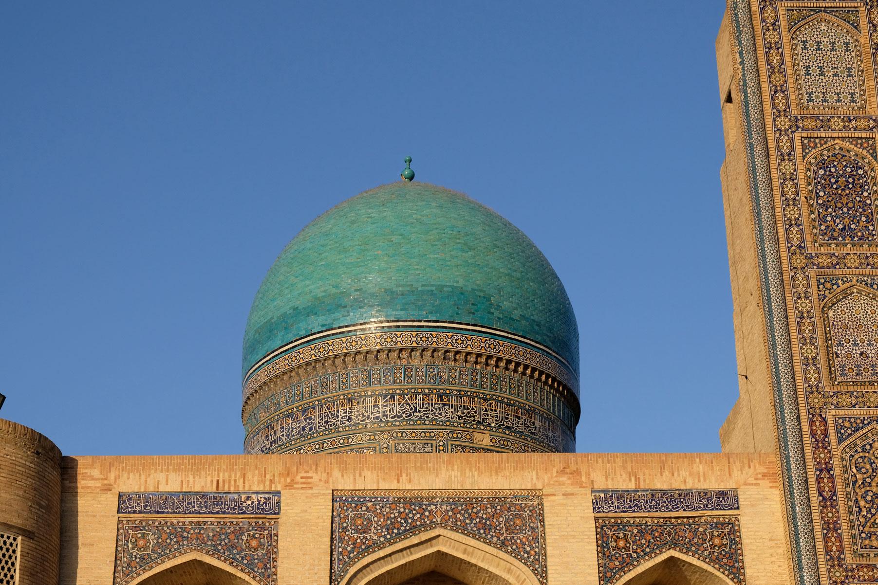 Kuppel der Mir-Arab-Madrasa in Buchara