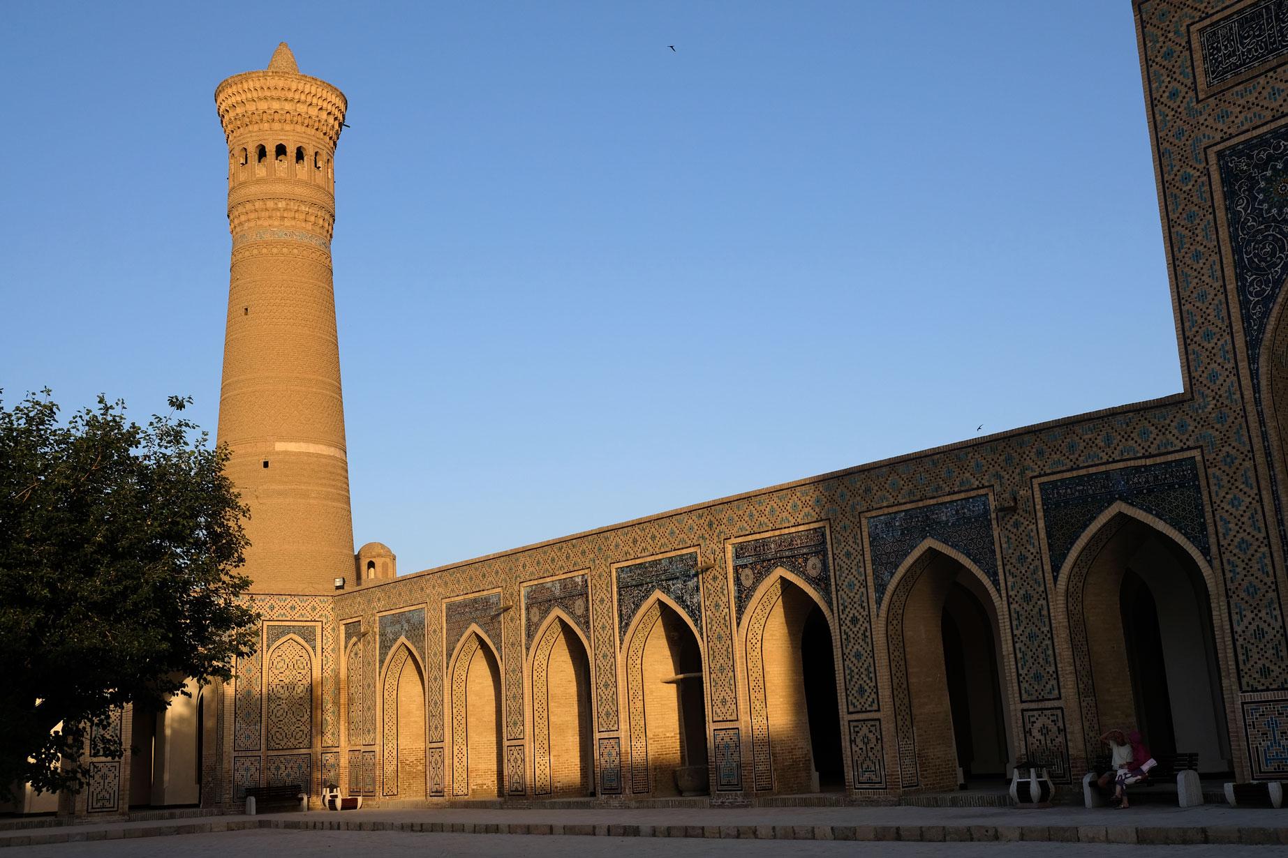 Minarett der Kalon-Moschee in Buchara