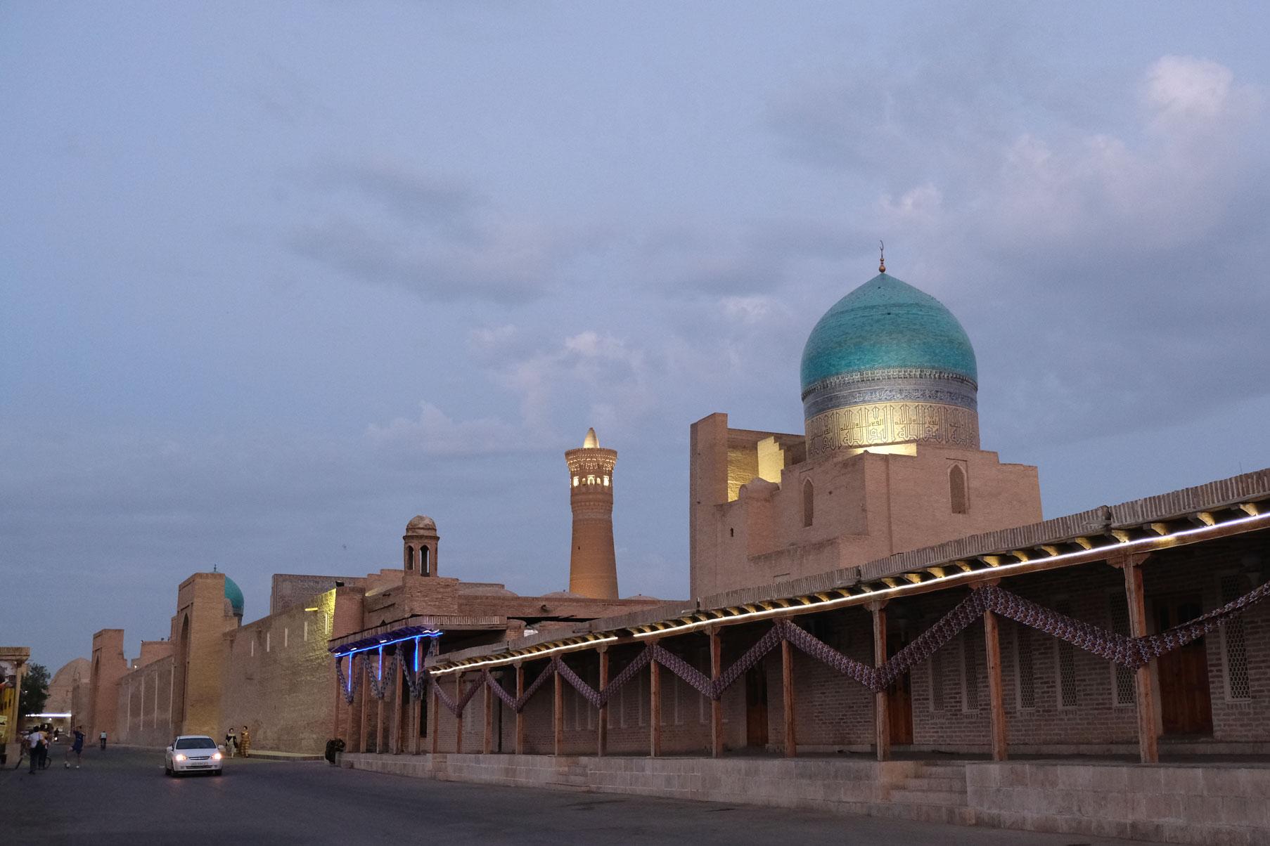 Gebäude in Buchara