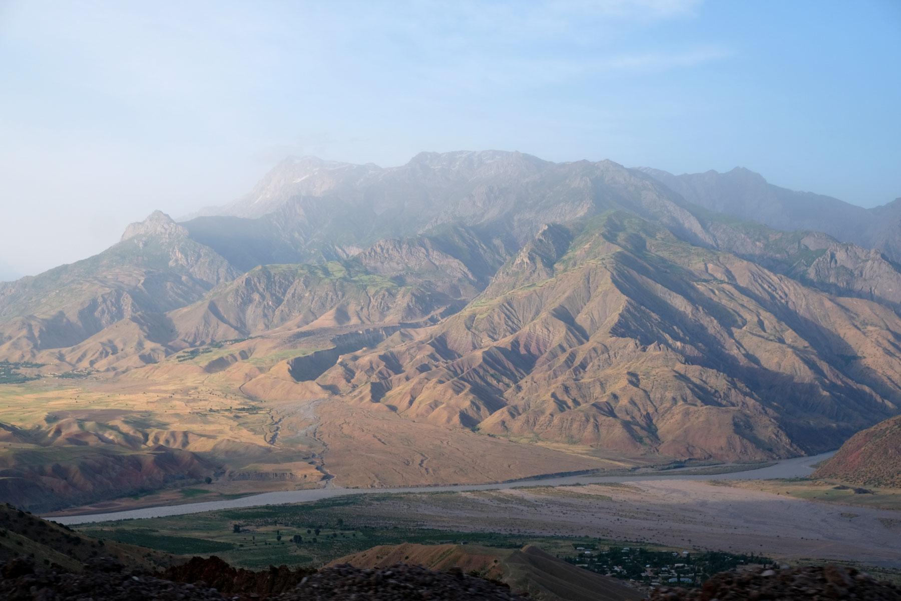 Pamir Gebirge in Afghanistan.