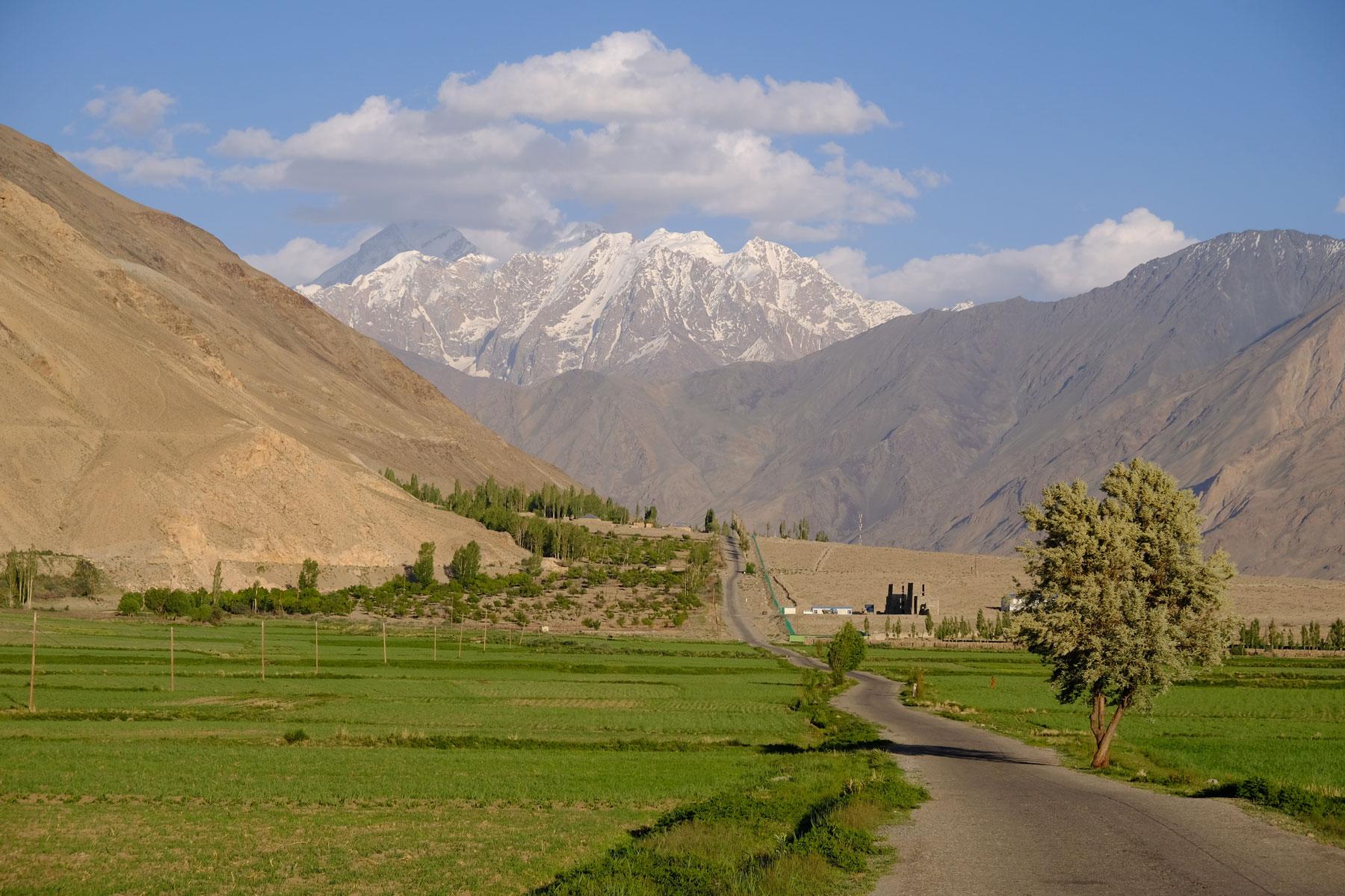 Wakhan Valley im Pamirgebirge.