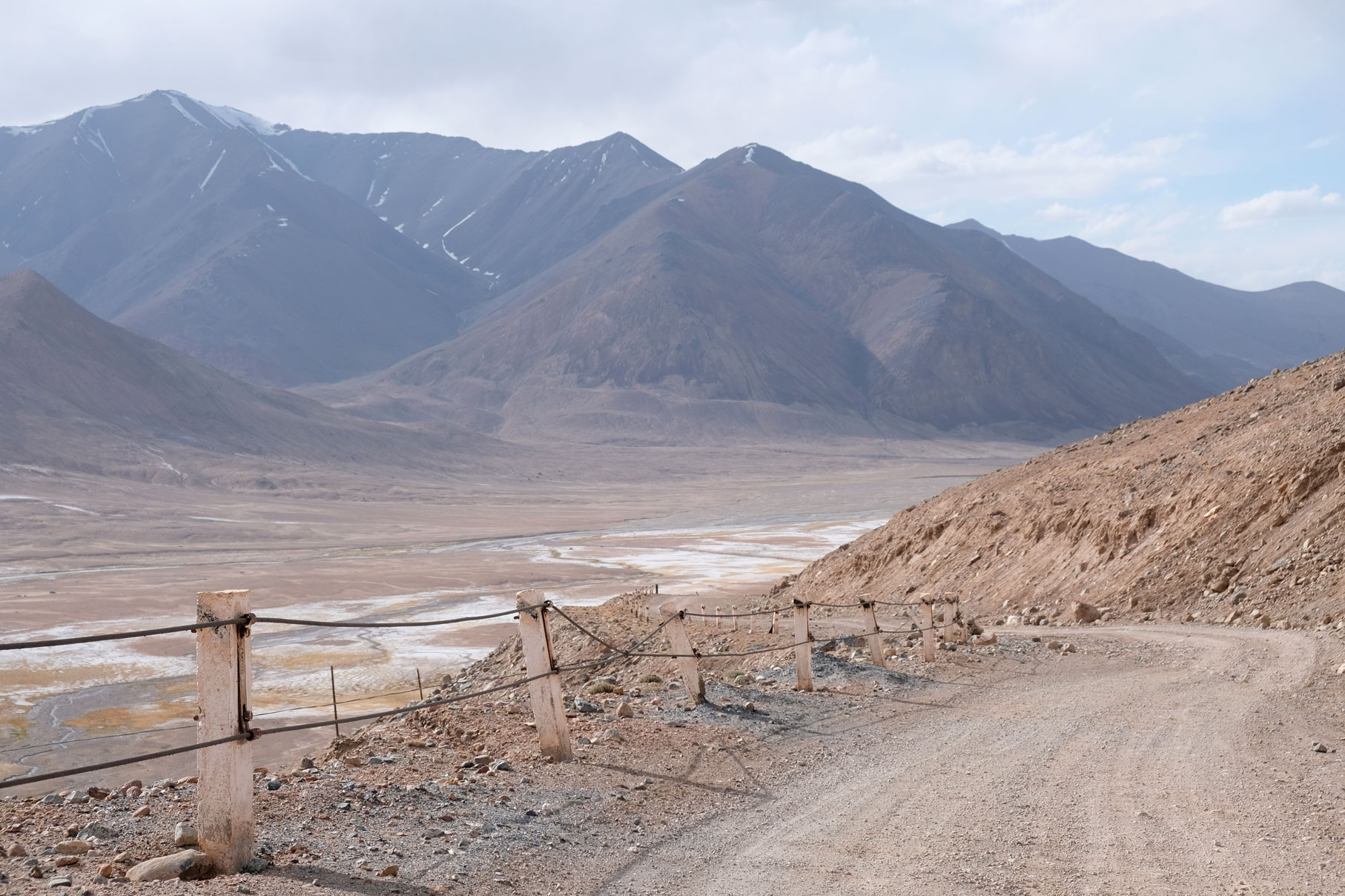 Pamir Highway in Tadschikistan.