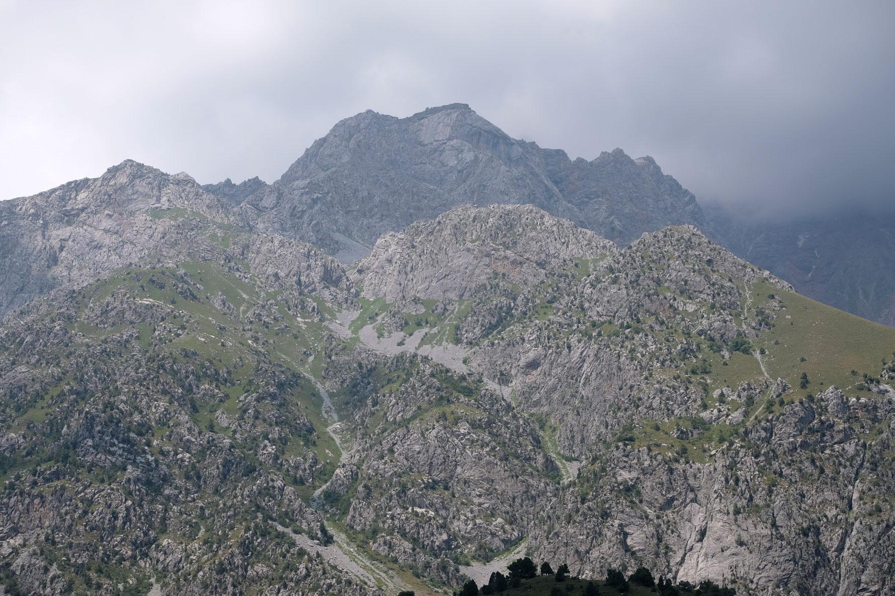 Berge bei Arslanbob.