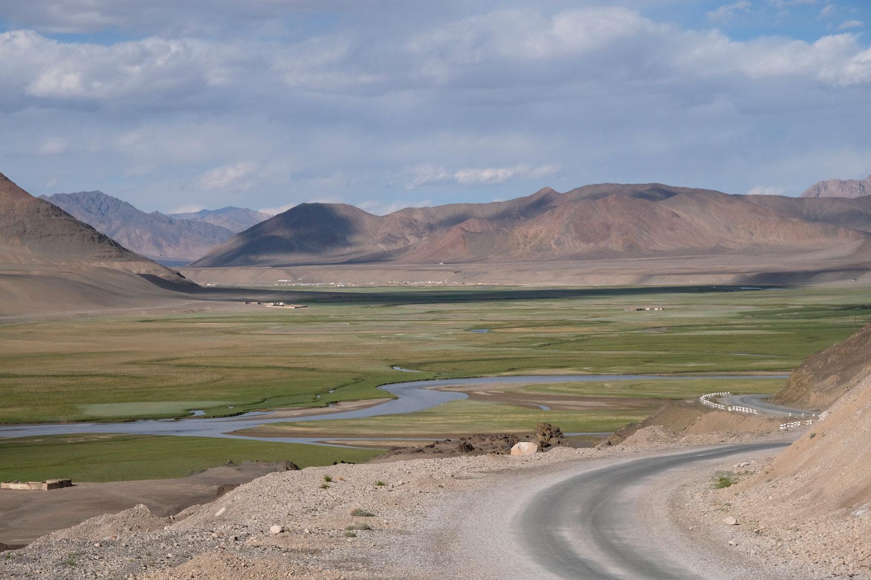 Berglandschaft bei Murghab.