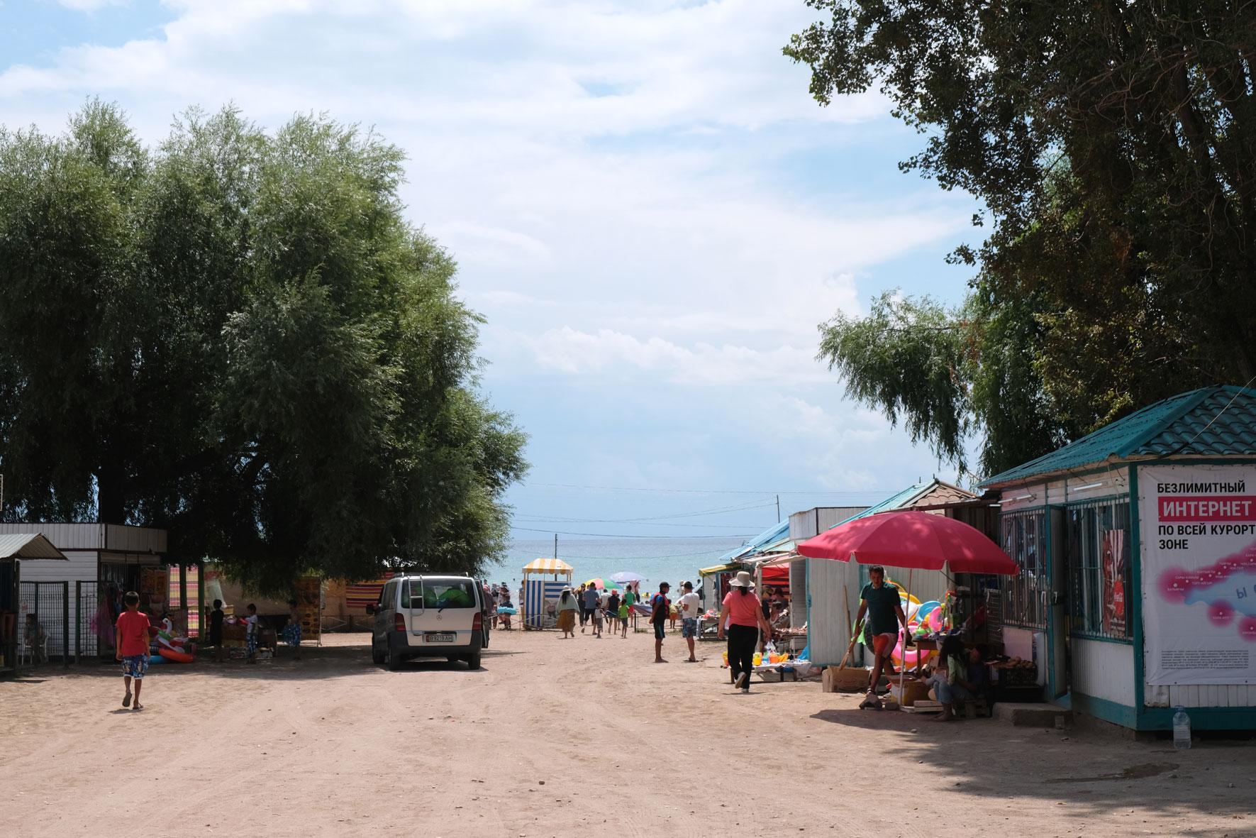 Promenade in Tamchy.