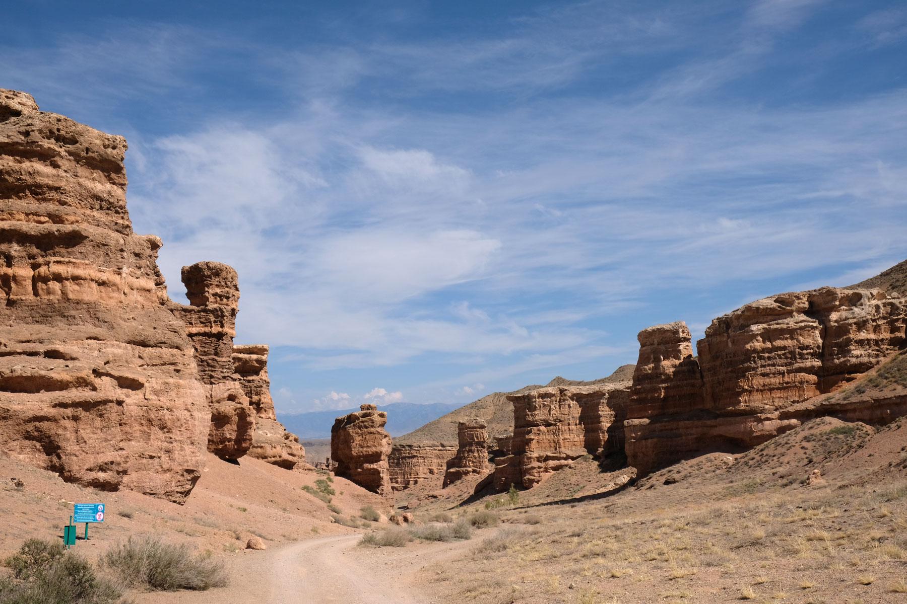 ...und wir freuen uns, es bis in den Canyon geschafft zu haben.