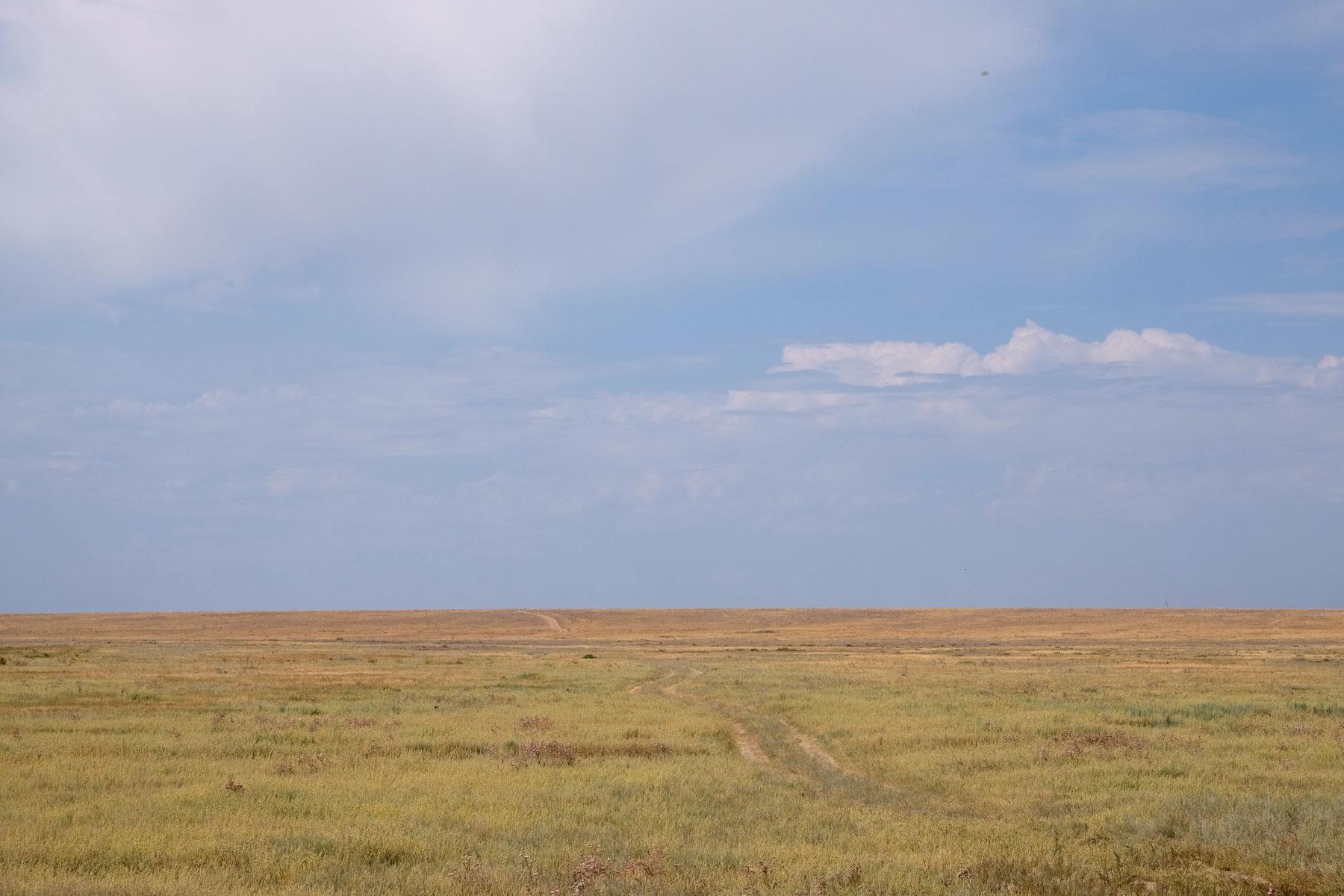 Kasachische Steppe bei Korgalzhyn.