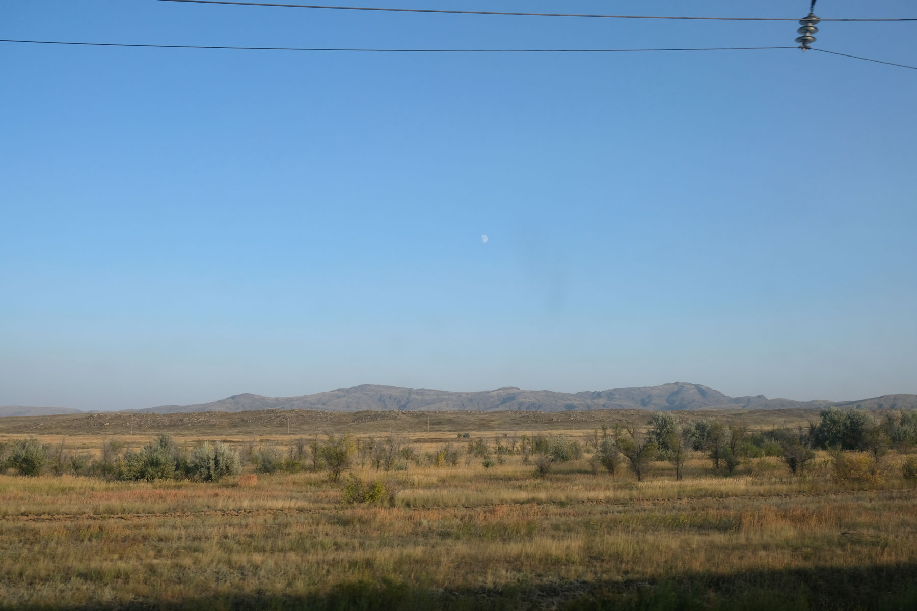 Steppe in Kasachstan.