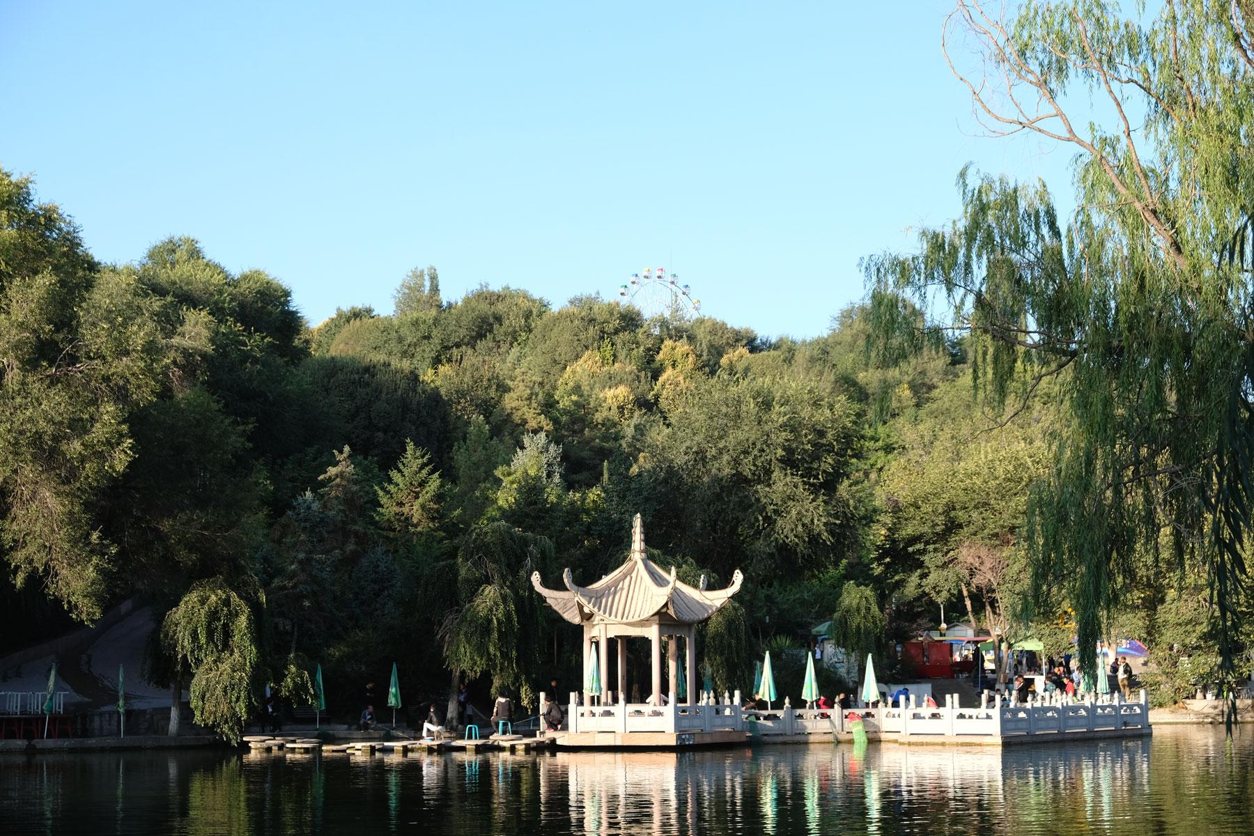Ein Stück aus dem alten China, vor Hochhäusern und Verkehrschaos?