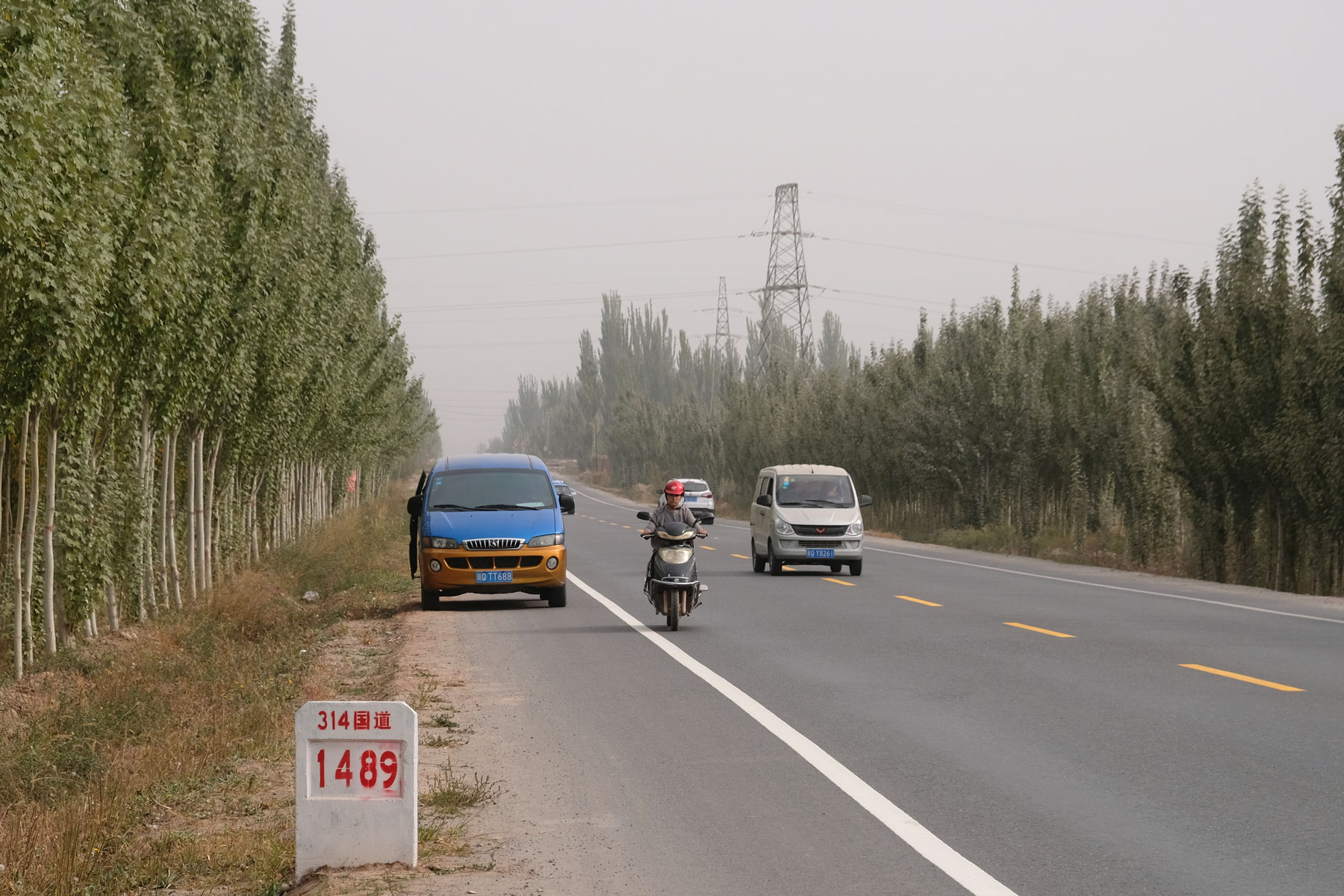 Auf überraschend guten Straßen geht die Fahrt weiter in Richtung Süden