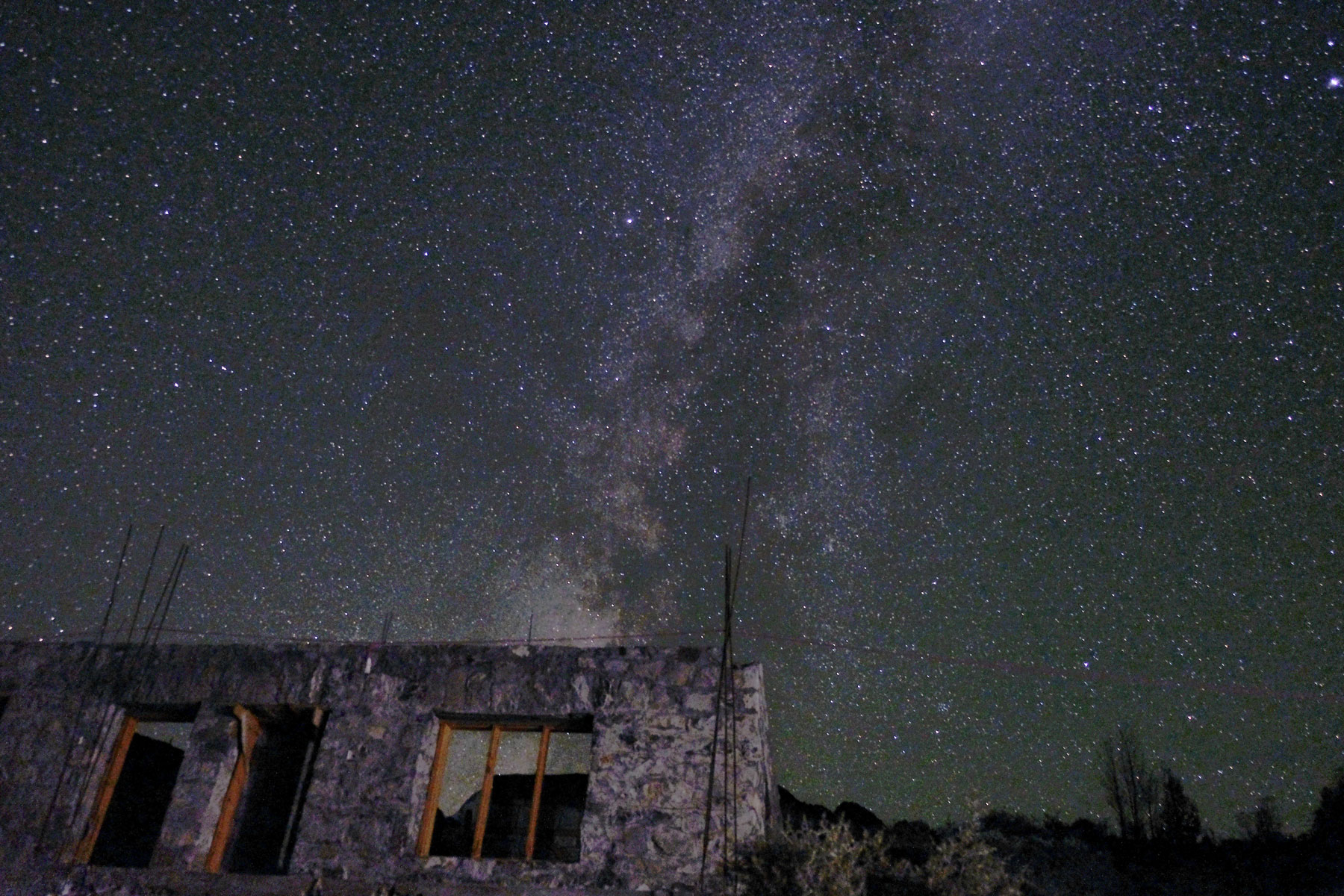 Nachthimmel in Passu.