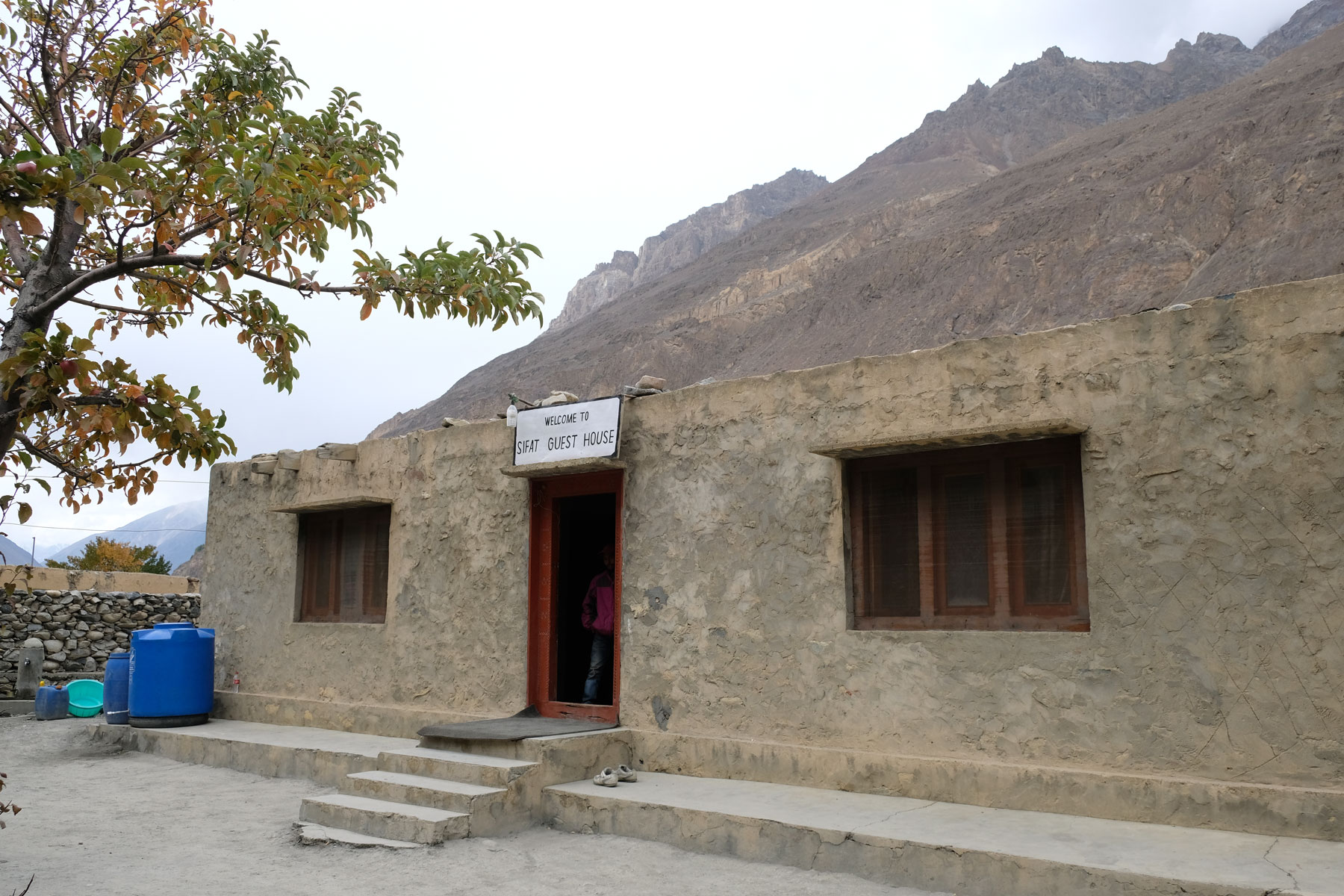 Guesthouse in Shimshal in Pakistan.
