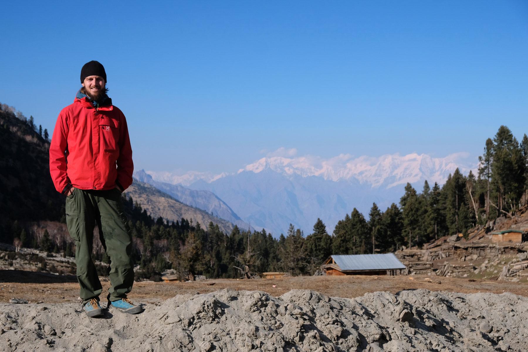 Sebastian im Karakorumgebirge.