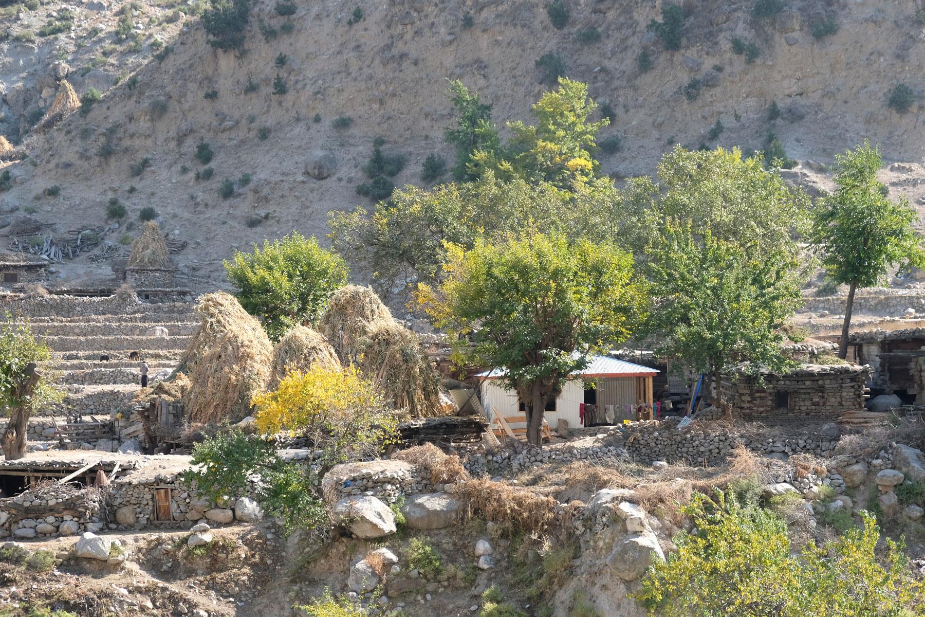 Das Dorf Tato.