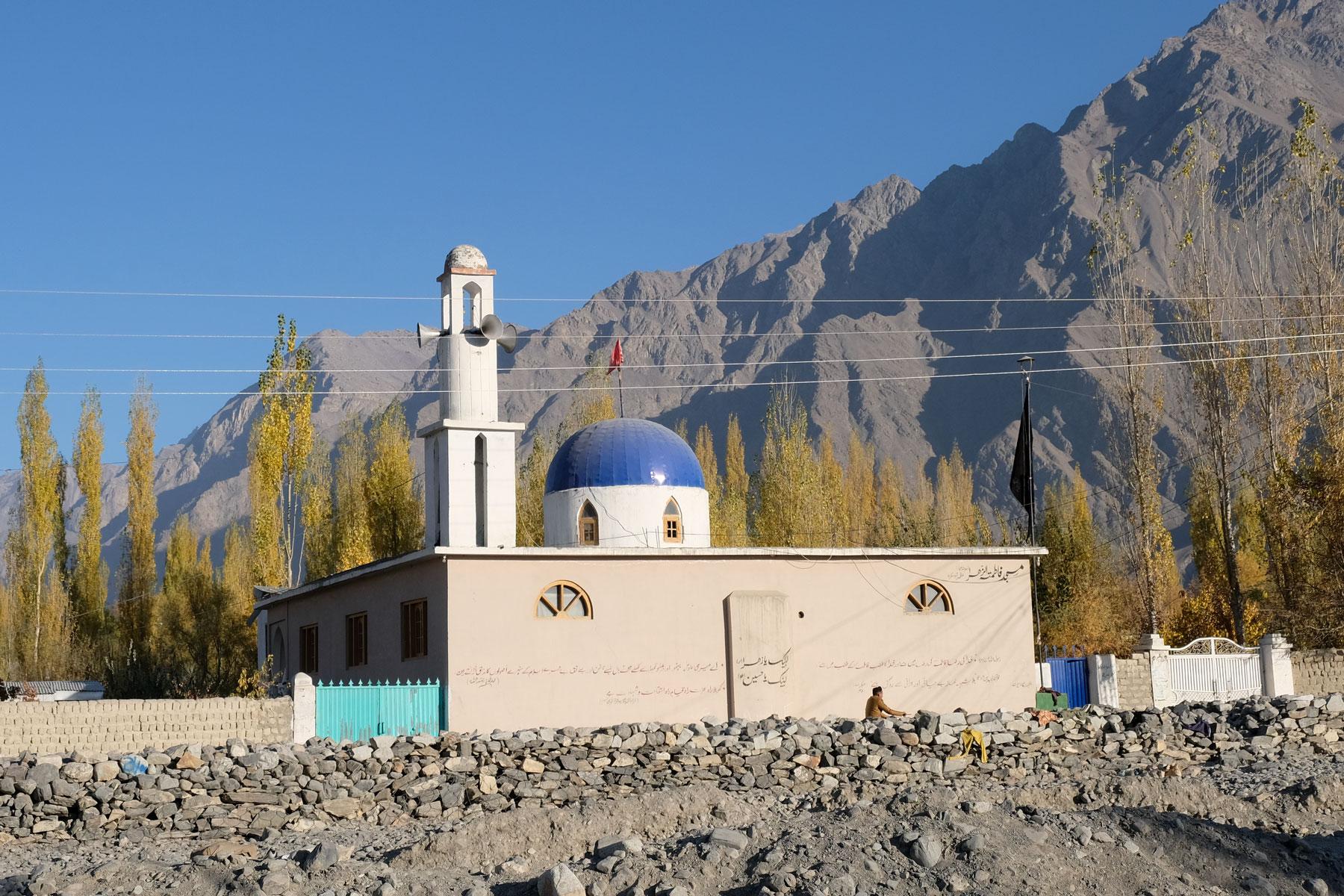 Moschee in Skardu.