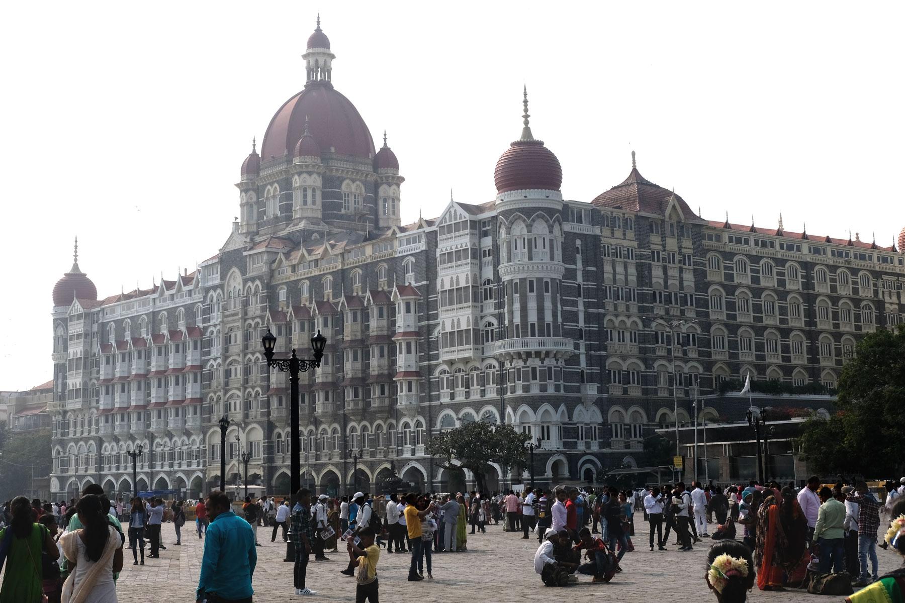 Das Luxushotel Taj Mahal Palace in Mumbai.