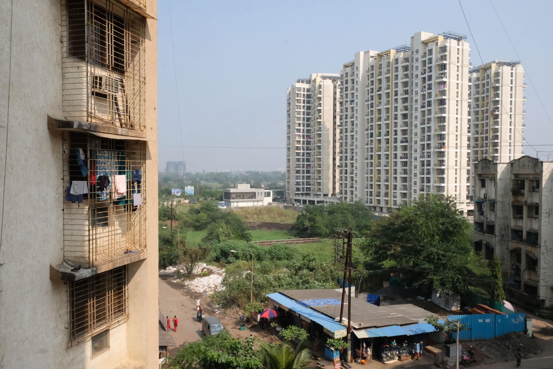 Der indische Ort Kalyan bei Mumbai.
