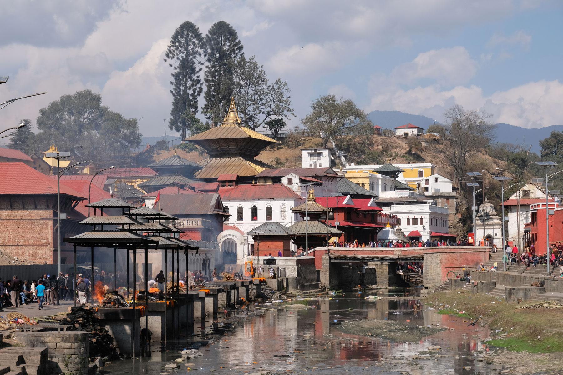 Pashupatinath in Kathmandu.