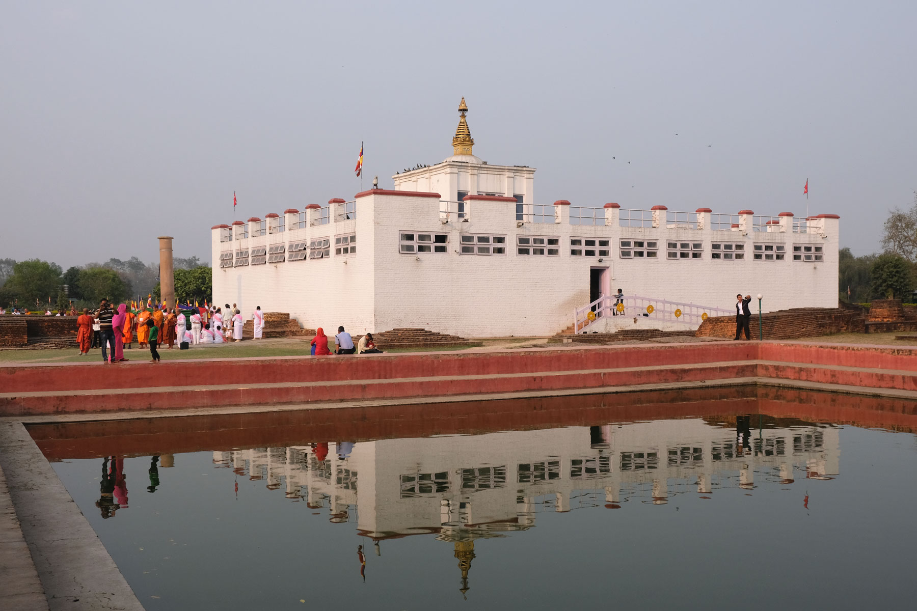 Mayadevi-Tempel in Lumbini in Nepal.