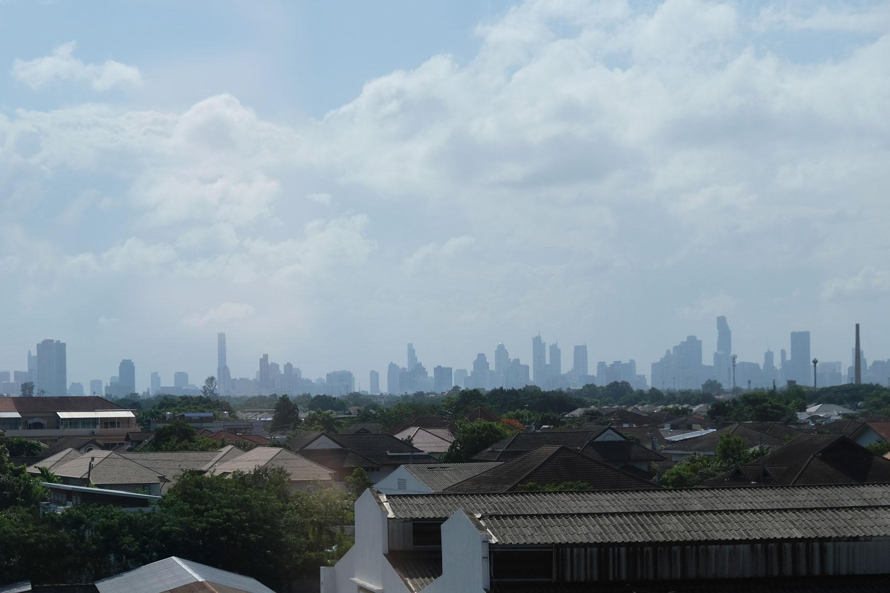 Skyline von Bangkok.