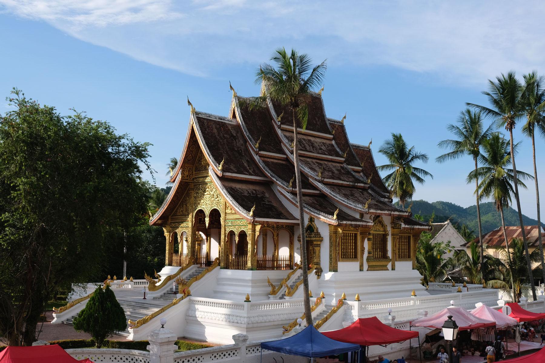 Wat Xieng Thong Tempel in Luang Prabang.