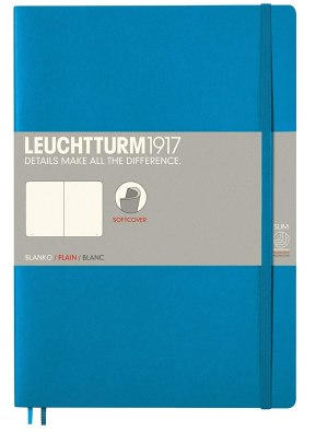 Notizbuch Größe B5. Link: Notizbuch Größe B5 bei Amazon bestellen.