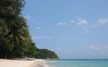 Der Strand von Pulau Kapas in Malaysia