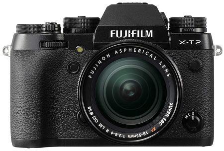 Fujifilm X-T2 Systemkamera Kit und XF18-55mm Objektiv